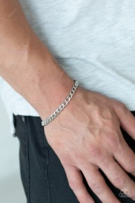Halftime - Silver Urban Chain Bracelet