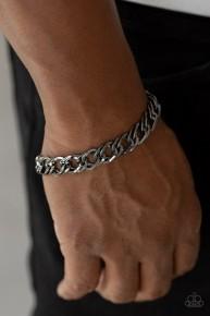 On the Ropes - Black Urban Chain Bracelet