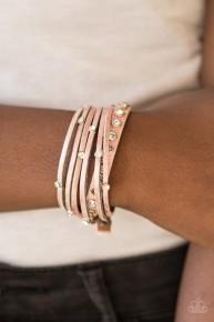 Catwalk It Off - Pink Urban Bracelet