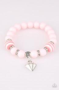 Starlet Shimmer Charm Bracelet - Pink
