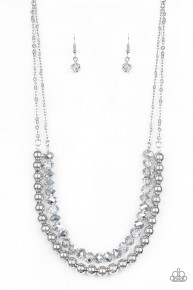 Color Of The Day - Silver Necklace