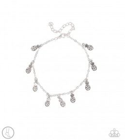 Sand And Sunshine - Silver Anklet