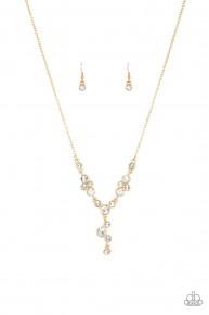 Five-Star Starlet - Gold Necklace