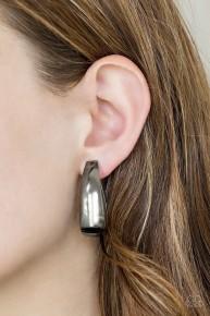Gypsy Belle - Black Hoop Earrings