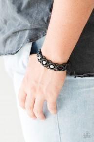 Nautical Navigator - Black Urban Bracelet