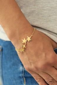 All Star Shimmer - Gold Bracelet