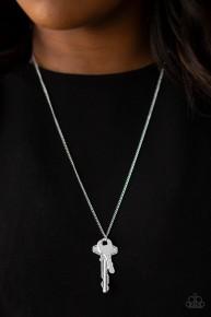 The Keynoter - Silver Key Necklace