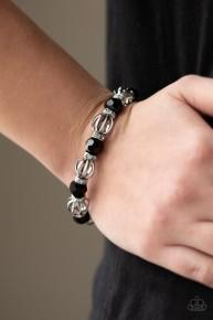 Metro Squad - Black Bracelet