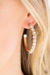 My Kind Of Shine - Gold Hoop Earrings