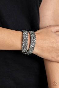 Crush To Conclusions - Silver Urban Wrap Bracelet