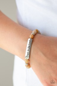 Trust Always - Brown Urban Bracelet