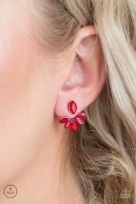 Radical Refinement - Red Earrings