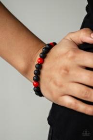 All Zen - Red Urban Bracelet
