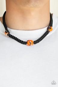 Rate Of Climb - Orange Urban Necklace