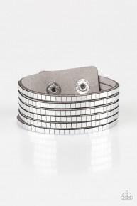 Disco Dazzle - Silver Urban Bracelet