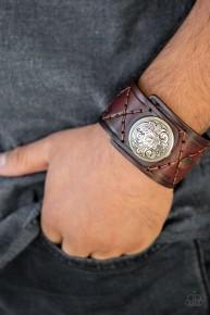 Badlands Bandit - Brown Urban Bracelet