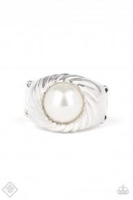 Wall Street Whimsical - White Ring