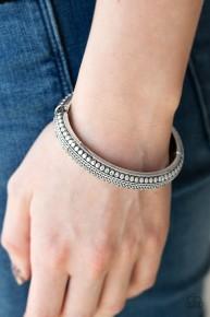 Zimbabwe Zen - Silver Bangle Bracelet
