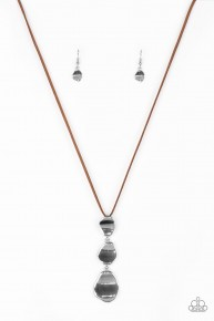 Embrace The Journey - Brown Necklace