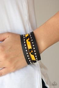 Born To Be WILDCAT - Yellow Urban Bracelet