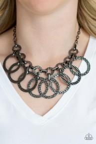 Jammin' Jungle - Black Necklace