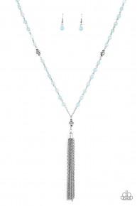 Tassel Takeover - Blue Necklace