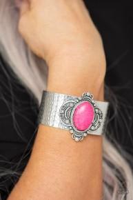 Yes I CANYON - Pink Cuff Bracelet
