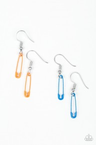 Starlet Shimmer Earrings - Safety Pins