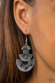 Far East - Black Earrings