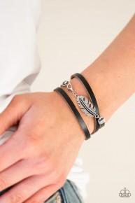 High Spirits - Black Urban Bracelet