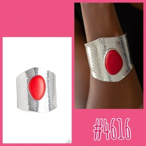 Casual Canyoneer - Red Cuff Bracelet