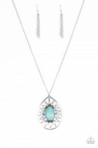 Summer Sunbeam - Blue Necklace