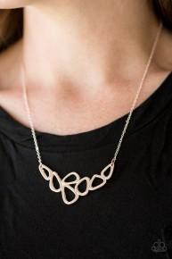 Vertigo - Rose Gold Necklace