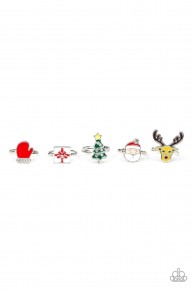 Starlet Shimmer Rings - Christmas Collection