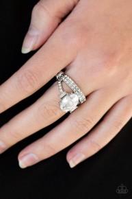 Bling Queen - White Ring