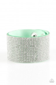 Roll With The Punches - Green Urban Bracelet
