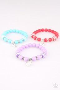 Starlet Shimmer Charm Bracelet - White