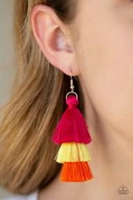 Hold On To Your Tassel! - Multi Fringe Earrings