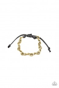 Rumble - Brass Urban Bracelet