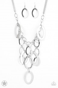 A Silver Spell - Silver Blockbuster Necklace