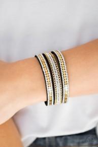Fashion Fanatic - Gold Urban Bracelet