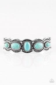 Desert Farer- Blue Cuff Bracelet