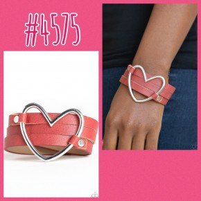 One Love, One Heart - Red Urban Bracelet