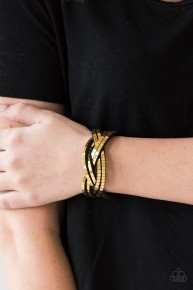 Looking For Trouble - Gold Urban Bracelet