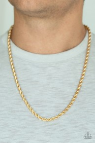 Double Dribble - Gold Urban Chain Necklace