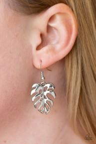 Desert Palms - Silver Earrings
