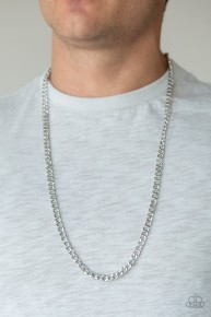 Delta - Silver Urban Chain Necklace