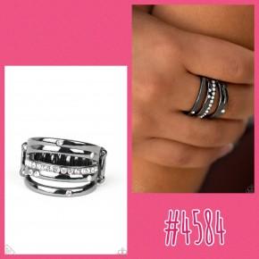 Make A Sheen - Black Ring