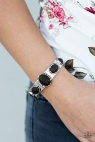 Laws Of Nature - Black Cuff Bracelet