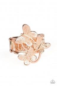 Full Of Flutter - Rose Gold Ring